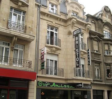 Dónde dormir y alojamiento en Ciudad de Luxemburgo (Luxemburgo) - Hotel Bristol. ViajerosAlBlog.com
