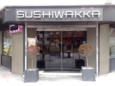 Dónde comer y gastronomía en Madrid (España) - Restaurante japonés Sushiwakka.