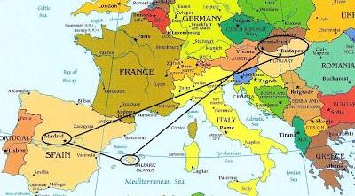 CRÓNICA: Introducción de la escapada a Hungría y Eslovaquia.