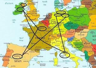 Introducción del viaje a Alemania, Italia, Ciudad del Vaticano, Irlanda, Irlanda del Norte (Reino Unido) y Francia. ViajerosAlBlog.com
