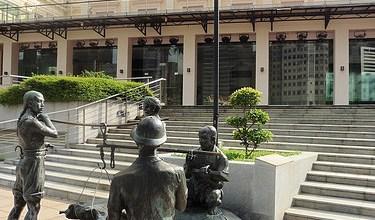 Estatuas urbanas de Singapur. ViajerosAlBlog.com