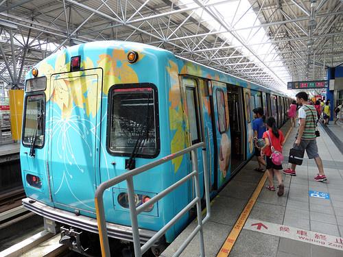 Beitou y Millenium Hot Spring (baños y aguas termales) en Taipei. ViajerosAlBlog.com