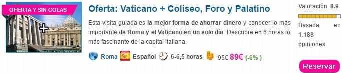 Civitatis_VaticanoColiseoForoPalatino. ViajerosAlBlog.com