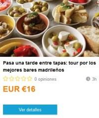 Weplann_TardeTapas. ViajerosAlBlog.com