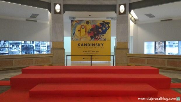 Exposición Kandinsky. Una retrospectiva. CentroCentro Cibeles Madrid. ViajerosAlBlog.com