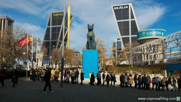 Exposición Cleopatra y la Fascinación de Egipto. Centro Arte Canal Madrid. ViajerosAlBlog.com