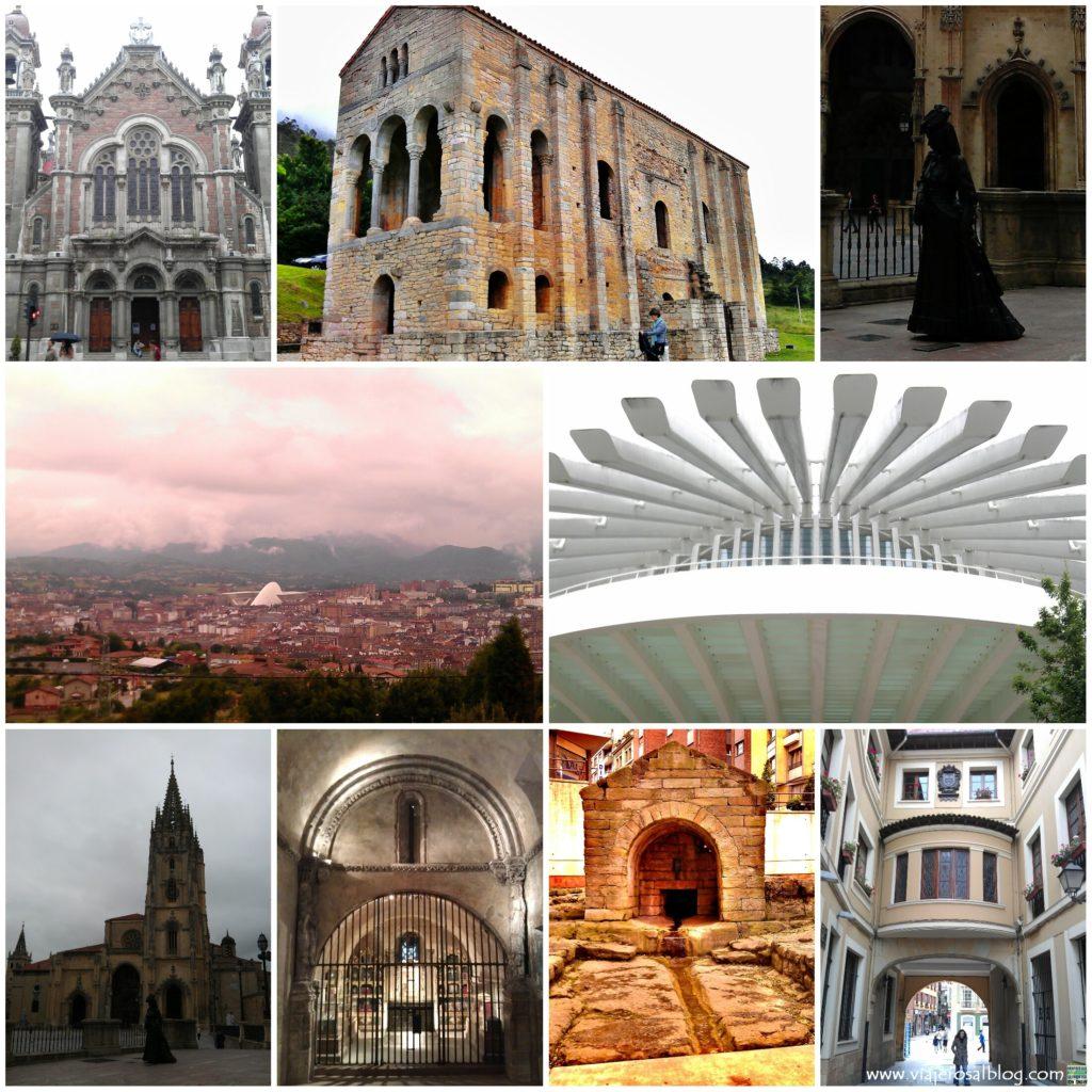 Oviedo_Collage_ViajerosAlBlog