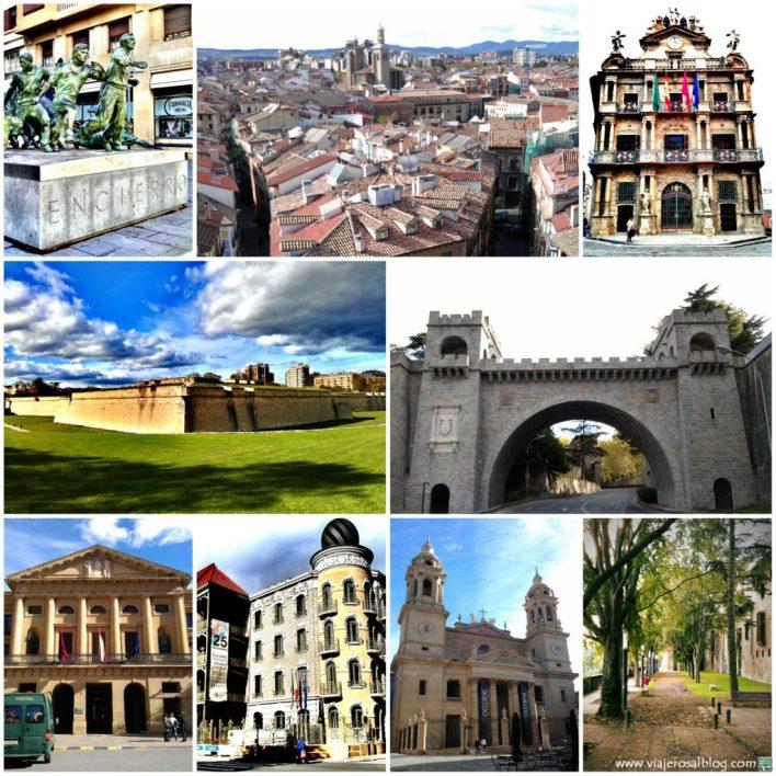 Pamplona_Collage_ViajerosAlBlog