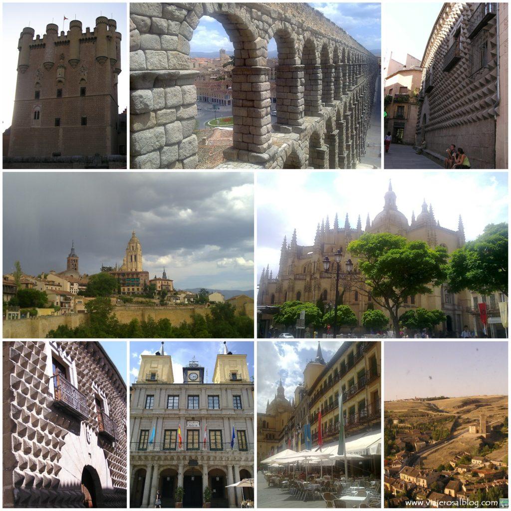 Segovia_Collage_ViajerosAlBlog
