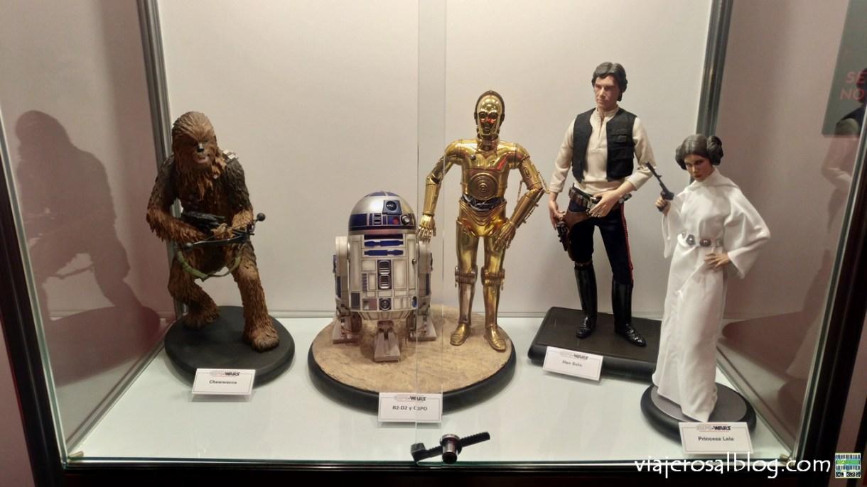 Exposiciones Star Wars en Madrid: Light the Force y Expo Wars.