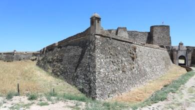 Photo of Castillo y Fortaleza de Juromenha en el Alentejo Portugués.