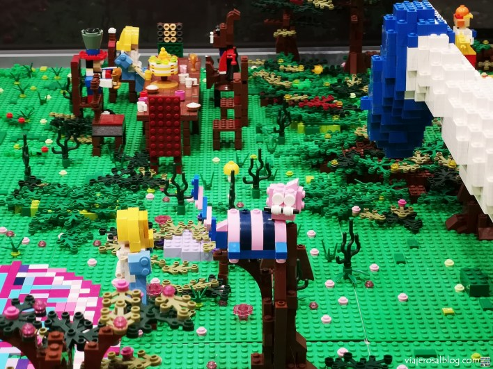 Exposición Piezas LEGO. Centro Comercial Gran Plaza 2, Majadahonda.