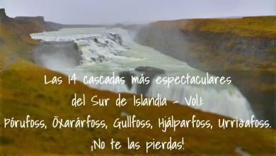 Photo of Las 14 cascadas más espectaculares del Sur de Islandia – Vol.1: þórufoss, Öxarárfoss, Gullfoss, Hjálparfoss, Urriðafoss. ¡No te las pierdas!