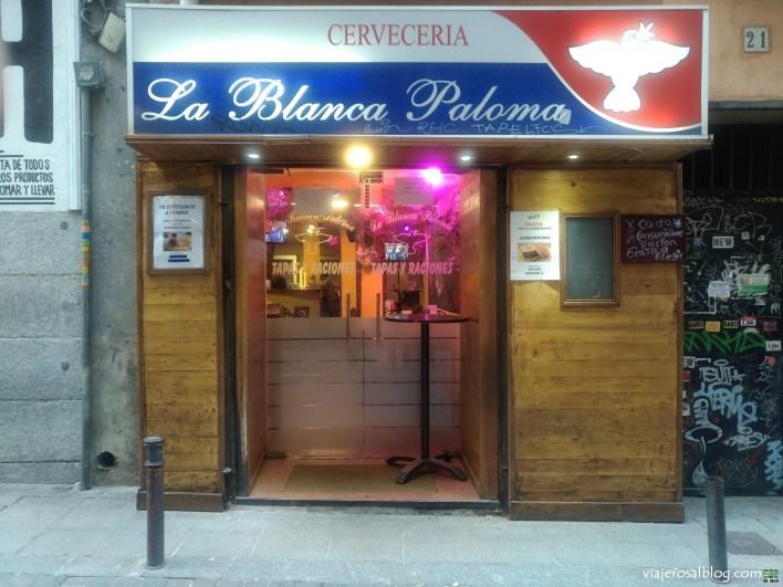Bares, cervecerías y tabernas low cost en Madrid. Cervezas y tapas gratis y baratas. Vol.1.