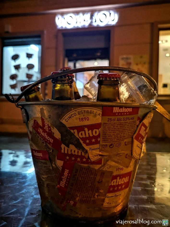 Bares, cervecerías y tabernas low cost en Madrid. Cervezas y tapas gratis y baratas. Vol.2.