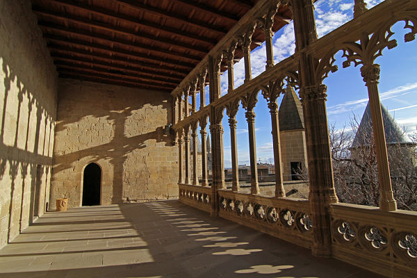 Castillo de Olite de visita guiada por el esplendor de la