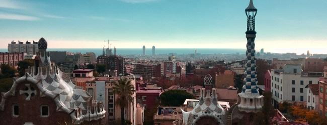 Barcelona en 2 días. Vistas desde el Parc güell.