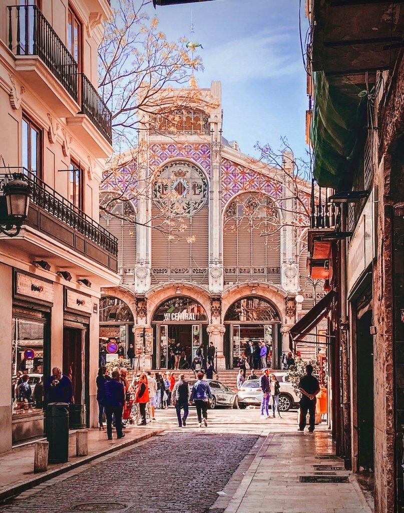Visita a la Ciutat Vella de Valencia: Mercat Central