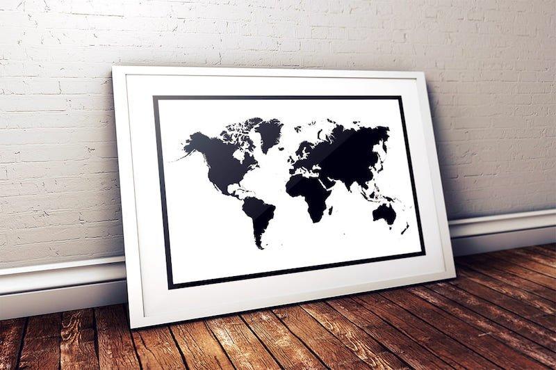 mapa del mundo gratis