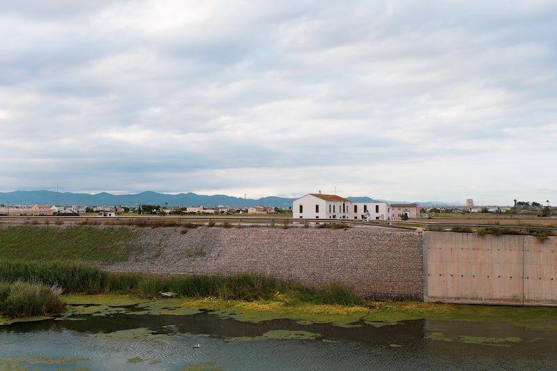 la huerta valenciana: las alquerías y barracas