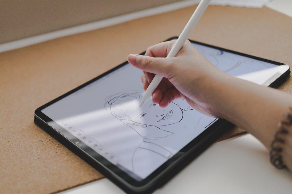 Sketchbook pro o procreate en ipad pro