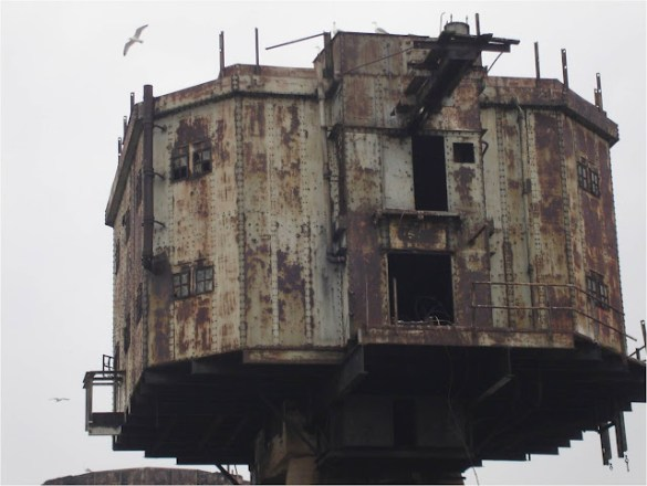 Fortalezas marinas Maunsell - 25