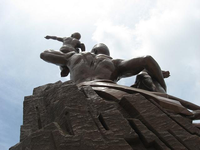 Monumento al Renacimiento Africano - Dakar, Senegal, África - 15