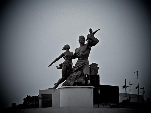 Monumento al Renacimiento Africano - Dakar, Senegal, África - 18