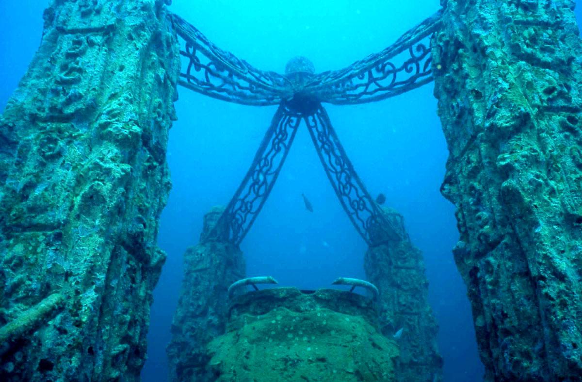 Neptune Memorial Reef - Un cementerio submarino