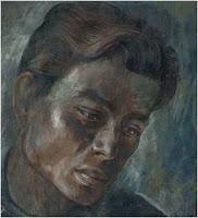 Pintura de Plutarco Gastelum por Carlyle Brown