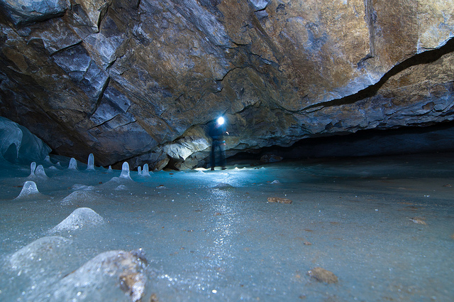 Cuevas de hielo, Serendipity