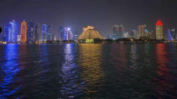 Doha timelapse