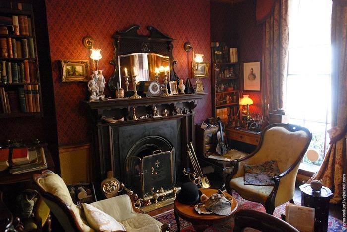 Museo de Sherlock Holmes, en Londres 1