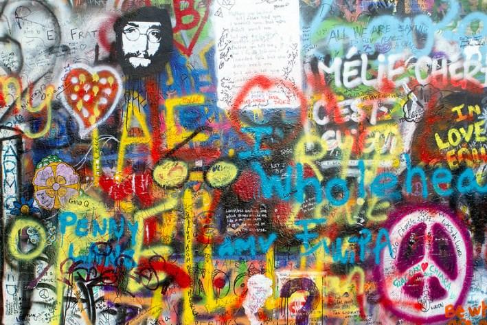 Muro de Lennon República Checa