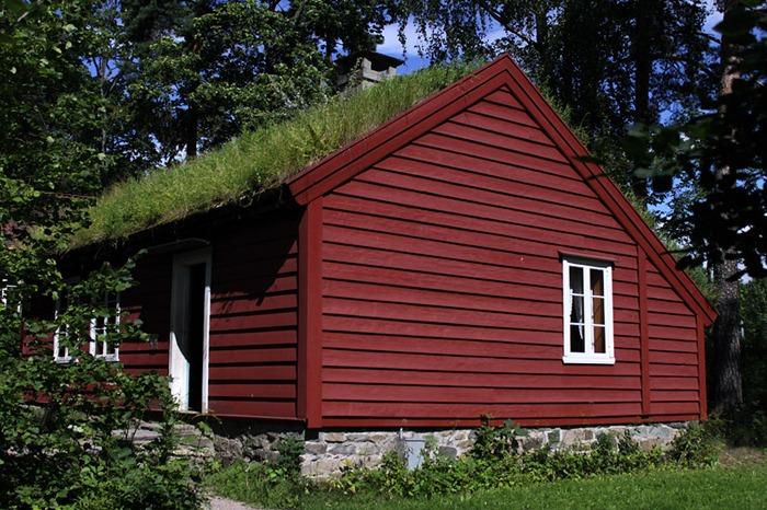 Tejados de hierba de Noruega