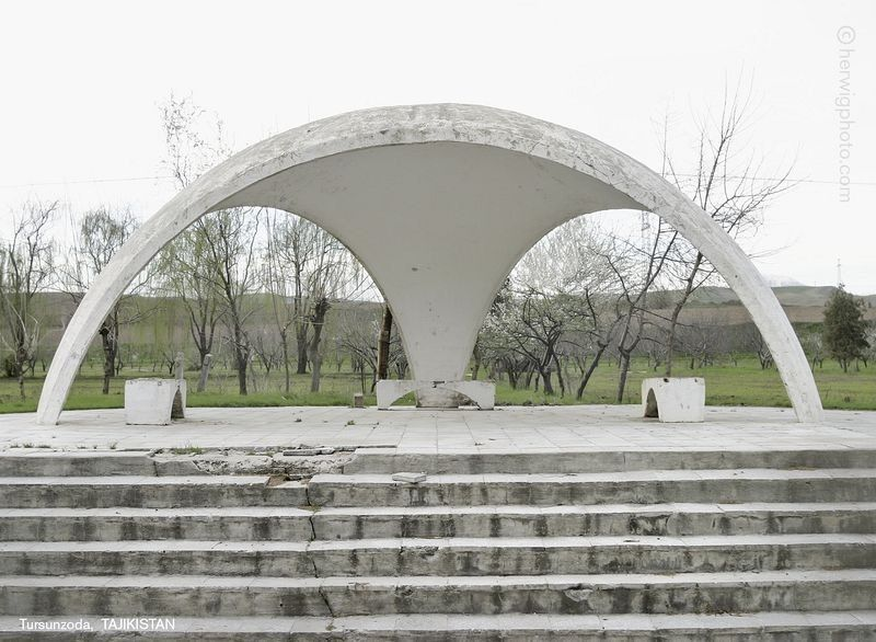 Strange Soviet Bus Stops