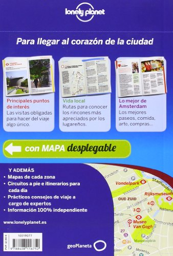 Lonely Planet Amsterdam De Cerca (Travel Guide) (Spanish Edition) 1