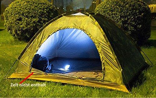 Lixada 60 LED Lámpara Colgante de Acampa Campamento Tienda o de Emergencia con Pantalla Círculo Carpa Luz blanca 1