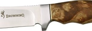 Browning Fixed Blade with Burlwood Handle, 8 1/4 in. 5