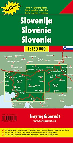 Slovenia ; 1/150.000 (English, French, German, Italian and Spanish Edition) 1