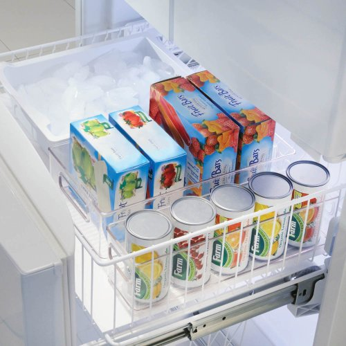 InterDesign Linus Freeze Binz - Organizador, 20,3 x 15,2 cm, color transparente 1