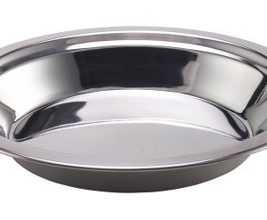 Laken Stainless steel plate 8.5 inch (22cm) 10