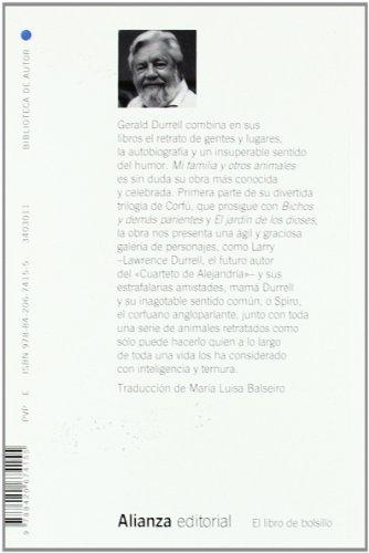 Mi familia y otros animales (El Libro De Bolsillo - Bibliotecas De Autor - Biblioteca Durrell) 1