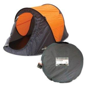 Tienda instantánea para dos personas Milestone Camping - Naranja 6