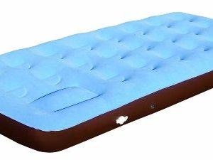 Simex Sport Comfort - Colchón, tamaño 185 x 77 x 20, color azul / marrón 1