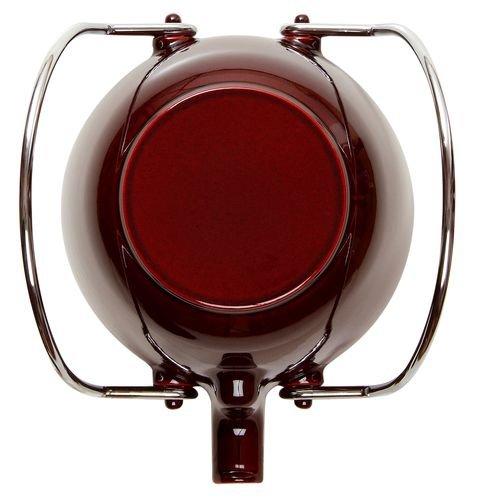 Staub Fonte 1650087 - Tetera/hervidor, forma redonda, color granate 1
