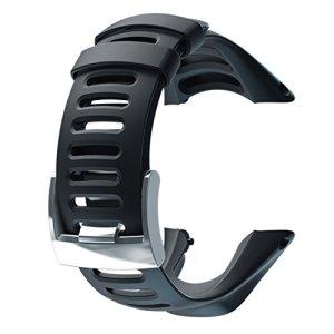 Suunto Ambit2 R / Ambit3 Run Black Strap - Correa para relojes, color negro 12