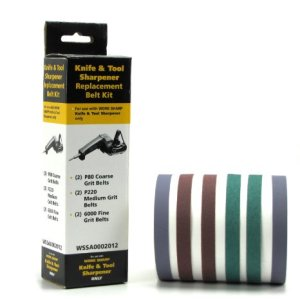 Work Sharp Knife & Tool Sharpener Replacement Belt Kit (WSKTS & WSKTS-KT) 4