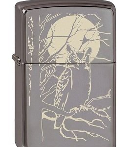 Zippo 2.003.086 Owl Moon Collection 2013 - Mechero, diseño de búho, color negro 5