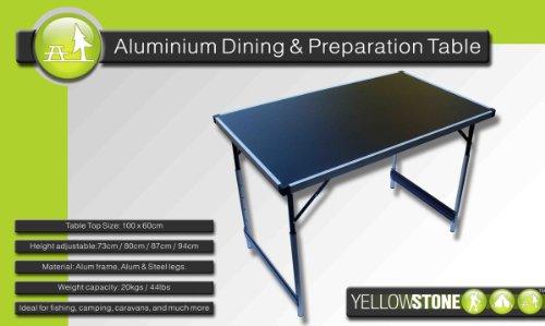 Yellowstone Folding Camping Table 1